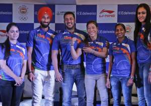 Bollywood actor Salman Khan was on Saturday named as the goodwill ambassador of the Indian contingent for the Rio Olympics to be held in August this year. The Indian Olympic Association (IOA), which made the announcement at its headquarters in New Delhi, chose Salman from a list of two to three candidates which also included Shah Rukh Khan and veteran actor Amitabh Bachchan. However, the IOA reportedly chose Salman as he is considered to be more connected with the youth and sportspersons. The 50-year-old Salman is a youth icon and an inspiration for bodybuilding fans across the country. Here's a look at the event:- India Tv