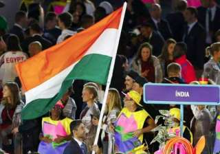 Abhinav Bindra, the Olympic champion shooter, was the flag bearer for India. Over twenty officials also joined the contingent.
