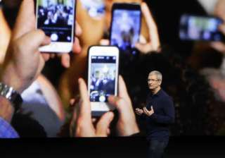 Apple's CEO Tim Cook launched next-generation iPhones –iPhone 7 and iPhone 7 Plus – at the Bill Graham Civic Auditorium, San Francisco.