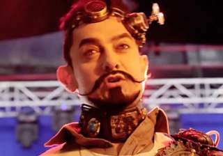 Secret Superstar When the look of this upcoming film, Secret Superstar went viral, fans loved the way Aamir looked in it. He experimented with a variation of a Van Dyke beard and teamed it up with a handlebar moustache in the film.
