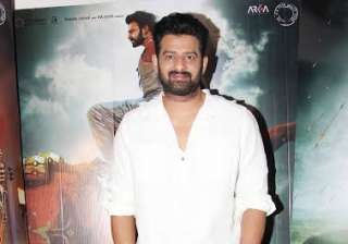 Baahubali 2 actor Prabhas who is playing a prominent role in the film was also present at the IMAX poster launch of Baahubali 2: The Conclusion.