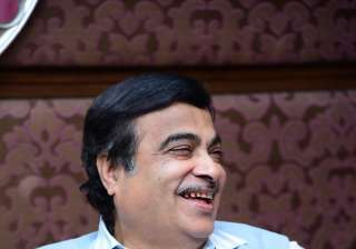 Minister of Road Transport and Highways of India, Nitin Gadkari graced the India TV's political mega conclave, Samvaad in a grey coloured Nehru jacket.