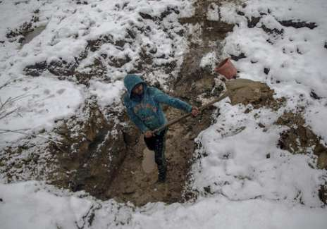 Kashmir snowfall- India Tv