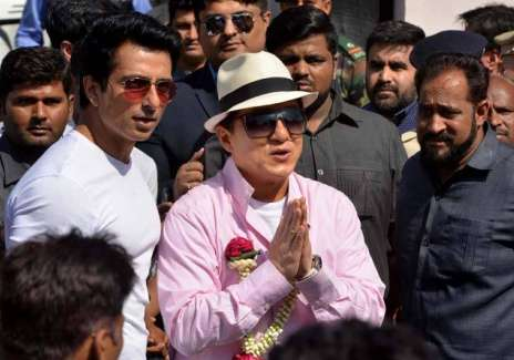 Jackie Chan in India- India Tv