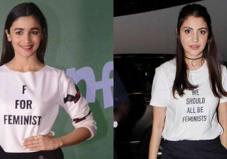 Like a tattoo, the slogan T-shirt has become the- India Tv