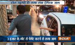 Toll Plazas, Currency Ban- India Tv