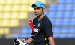 Gautam Gambhir to bear educational expenses of Sukma- India Tv