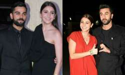 Anushka with Virat and Ranbir