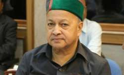 File pic of Himachal Pradesh Chief Minister Virbhadra Singh
