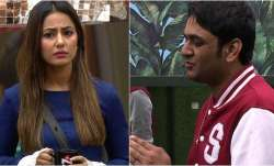 Bigg Boss 11 Hina Khan faces nomination due to Vikas Gupta