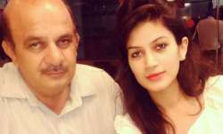 Bandgi Kalra and her father