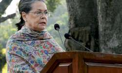 Sonia Gandhi speaks after paying homage to Indira Gandhi on