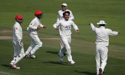 India vs Afghanistan Test Match