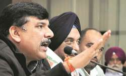 AAP spokesperson Sanjay Singh also claimed that the party