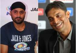 Shoaib Akhtar, Harbhajan Singh to come together as judges