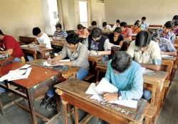 Students taking SSC exam