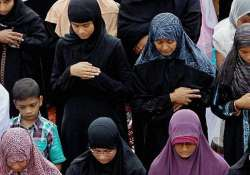 Stand on 'triple talaq' in sync with constitution, says