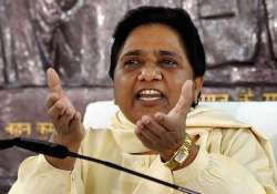 BSP supremo Mayawati today targetted the Modi govt on