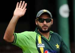File pic - Shahid Afridi announces retirement from