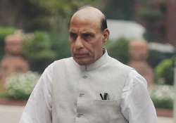 Home Minister Rajnath Singh not to play Holi- India Tv