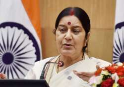Sushma Swaraj speaks to father of Sikh man shot in the US