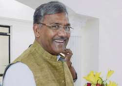 File pic of Uttarakhand CM Trivendra Singh Rawat- India Tv