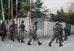 Security forces launch offensive to flush out militants