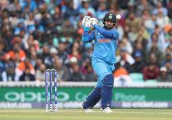 Yuvraj Singh of India in action during the ICC Champions