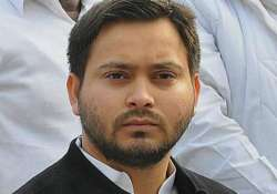 Tejashwi accused Nitish Kumar of double standards in his