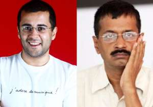Chetan Bhagat mocks Kejriwal over MCD loss, gets trolled on- India Tv