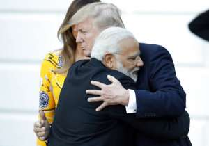 Narendra Modi, Donald Trump- India Tv