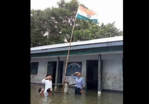 india tv, flood assam, viral picture