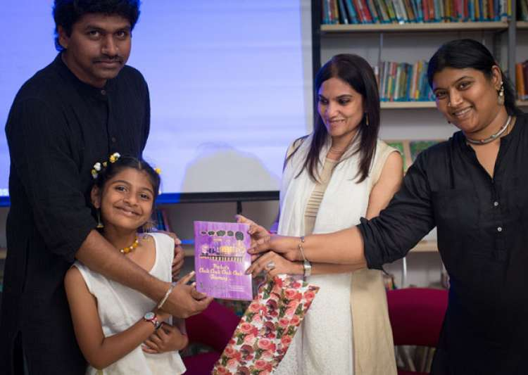 Seven year old Chennai girl publishes her first book- India Tv