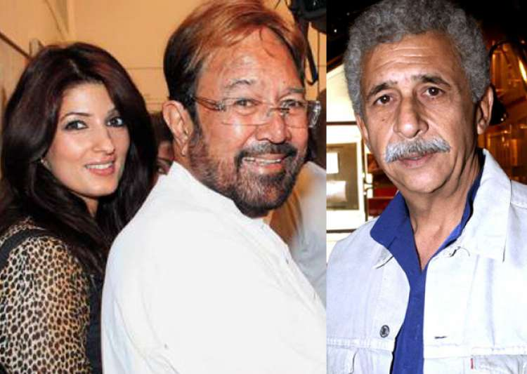 Twinkle knocks Naseeruddin Shah for 'poor actor' comment ...