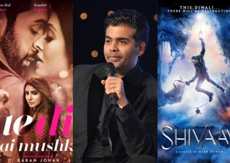 What it means for 'Shivaay' and how much KJo might lose- India Tv