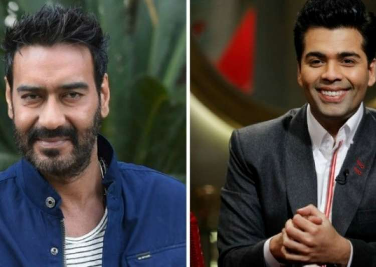 Box office rival Ajay Devgn comes out in KJo's support- India Tv
