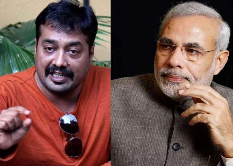 Anurag Kashyap and PM Modi- India Tv