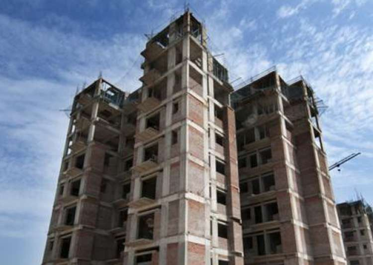 File pic of an underconstruction building in Noida. - India Tv