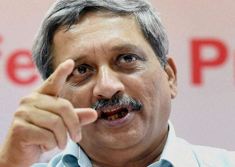 Manohar parrikar said India is giving befitting reply to- India Tv