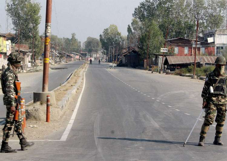 Baramulla, terror hideouts, Chinese flags- India Tv