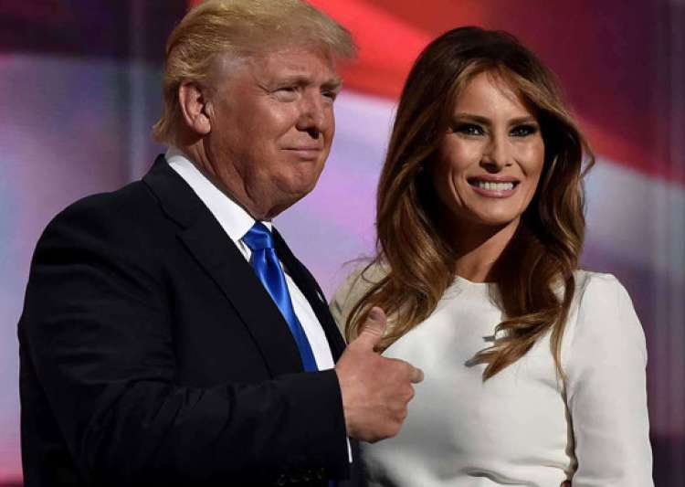 Melania Trump defended her husband- India Tv