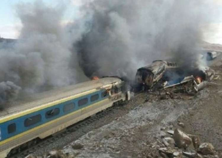 31 killed, 100 injured in Iran train collision- India Tv