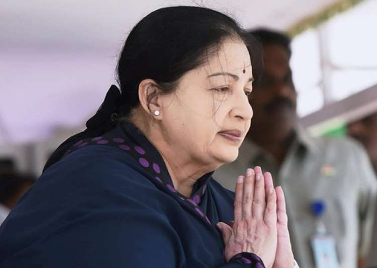 File pic - Tamil Nadu Chief Minister J Jayalalithaa- India Tv
