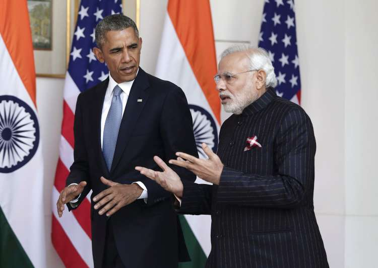 PM Modi with Obama- India Tv