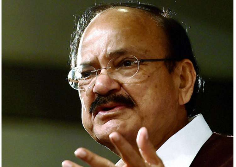 Union Minister Venkaiah Naidu speaks at an event in New- India Tv