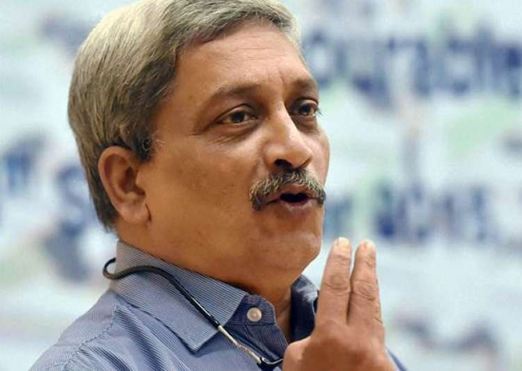 File pic - Defence Minister Manohar Parrikar- India Tv
