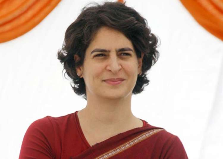 File pic of Priyanka Gandhi - India Tv