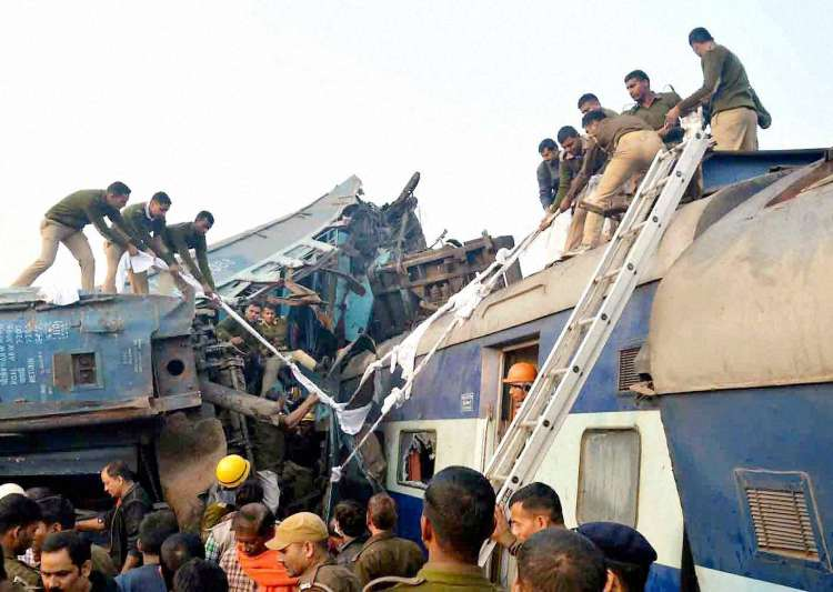 Kanpur train tragedy, GRP team, Indore-Patna Exp- India Tv