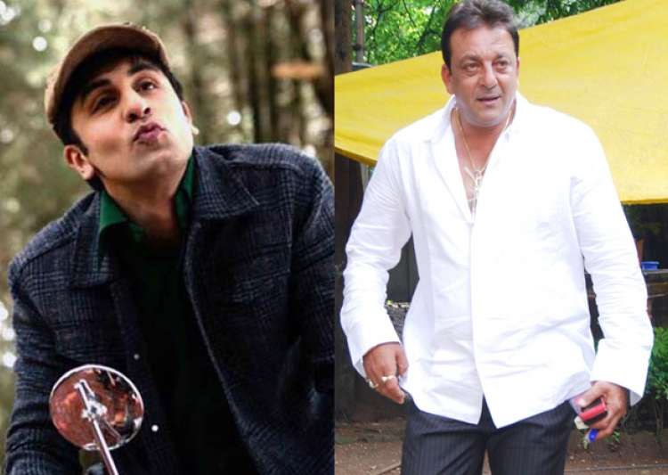 Sanjay Dutt 'lectures' Ranbir Kapoor to be macho m- India Tv