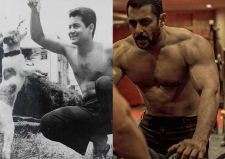 Salman shares 'shirtless' picture of Salim on his 81st- India Tv